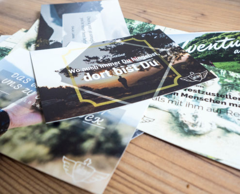 Classy Postkart Set