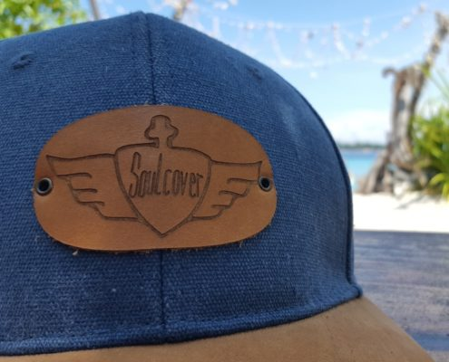 Soulcover Cap, Leathersoul Snapback Produktfoto shooting