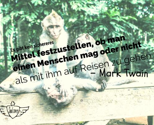 Soulcover Postkarte Monkey