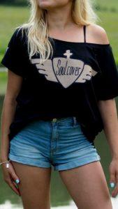Sandsoul Ladies Soulcover Clothing T-Shirt Shirt für Weltenbummler Reisejunkies Traveller Travle Reise Wanderlust Organic Biobaumwolle Bio-Baumwolle Eco Fairtrade