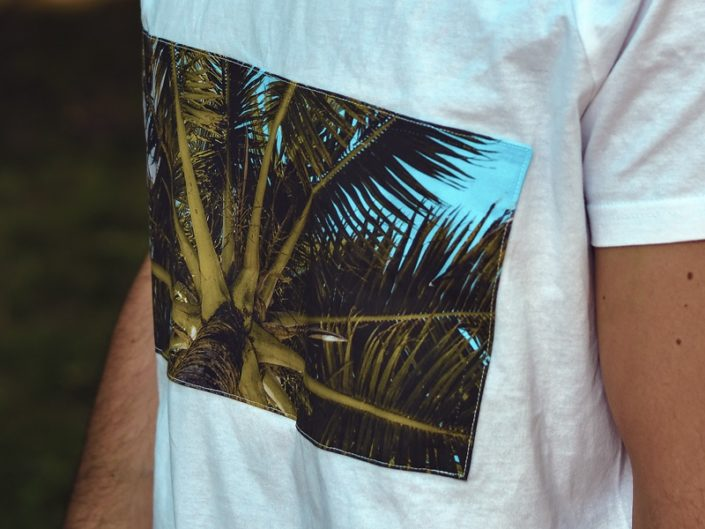 Palmen T-Shirt, Palmen Shirt, Palm Shirt, Palm T-Shirt, T-Shirt mit Palmenmotiv, Palmenmotiv, Belize T-Shirt, Karibik T-Shirt, Urlaubs T-Shirt, Reise T-Shirt, Unisex T-Shirt, Genderfree T-Shirt,