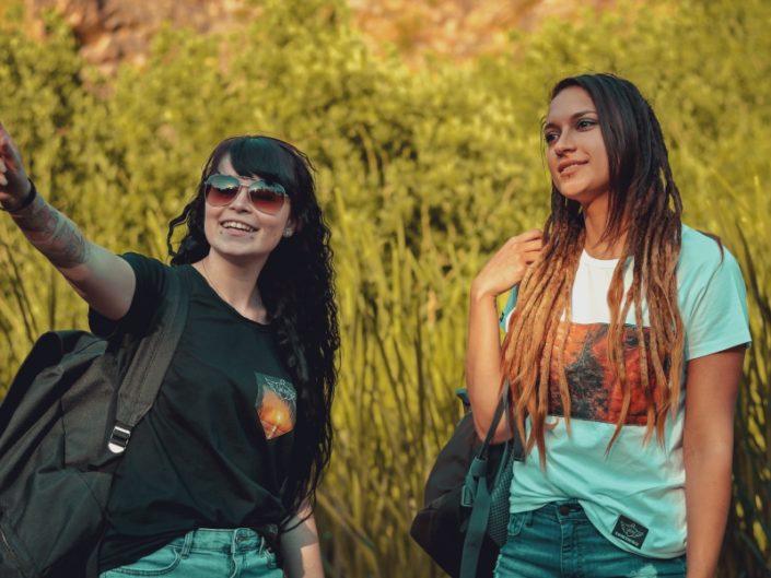 Grand Canyon, Canyon, Abenteuer, Abenteuer T-Shirt, Adventure T-Shirt, Adventure Kollektion, Canyon T-Shirt, Canyonmotiv, T-Shirt mit Canyonmotiv, handvernähte Applikation, Handarbeit, Bio-Baumwolle, Bio-Baumwolle T-Shirt,