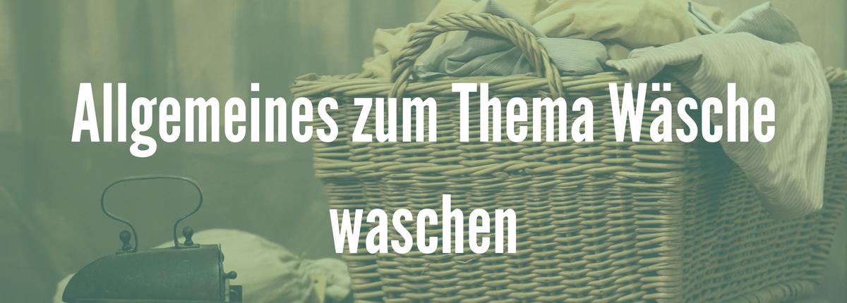 allgemeines zum Thema Wäsche waschen, t-shirt waschen, Pullover waschen, Hoodie waschen