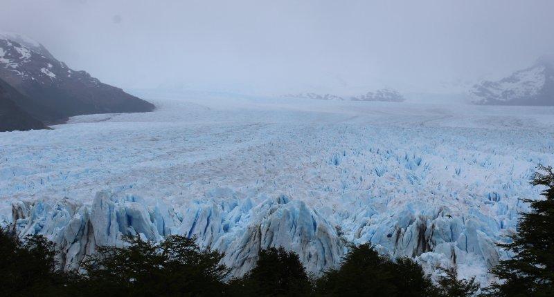 Perito Moreno Tour - unendliche Weite des Perito Moreno Gletschers
