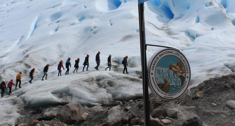Perito Moreno Tour - Wanderung auf einem echten Gletscher